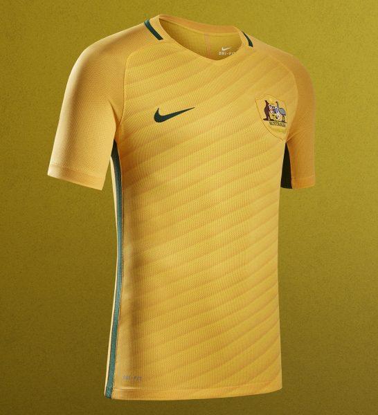 Casaca titular de Australia | Foto Nike