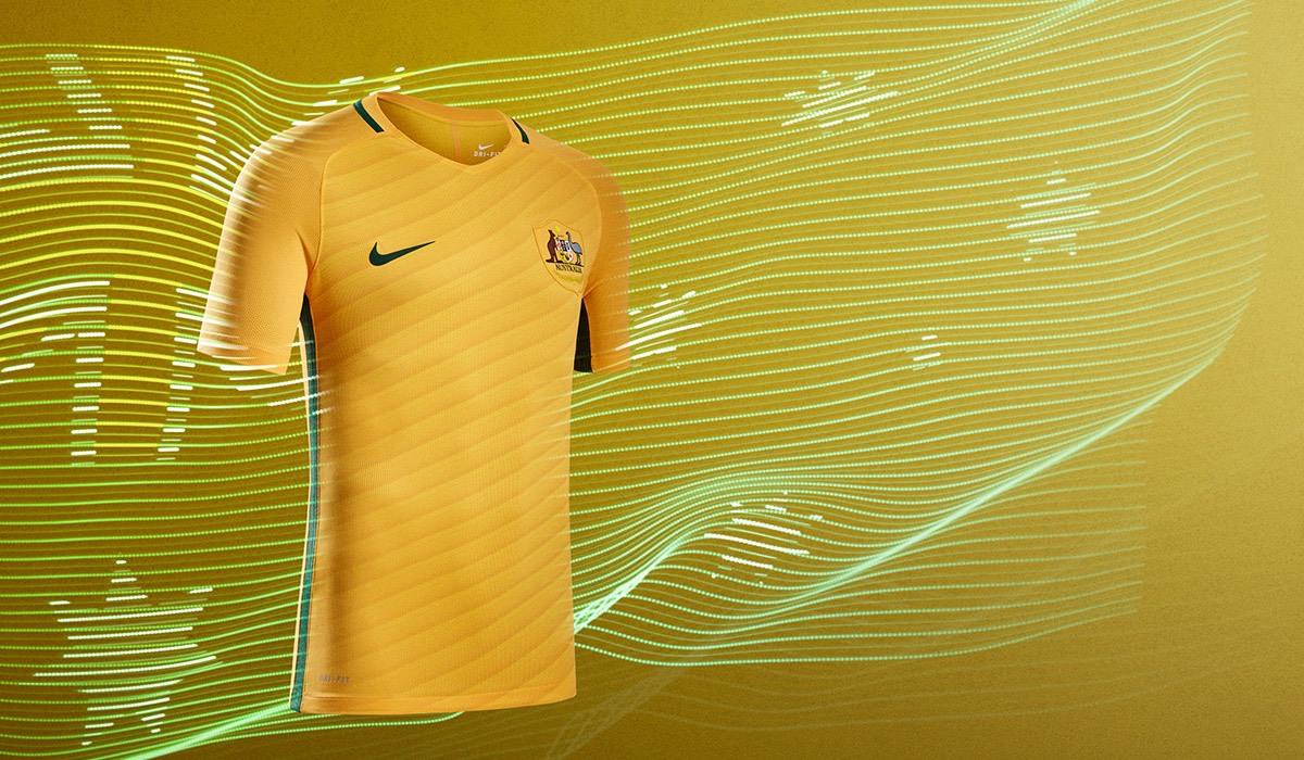 Camiseta titular de Australia | Foto Nike