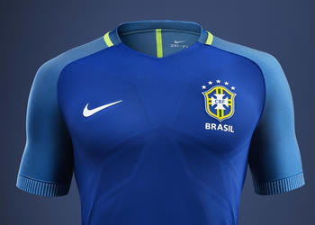Camiseta suplente de Brasil | Foto Nike
