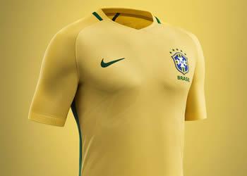 Camiseta titular de Brasil | Foto Nike