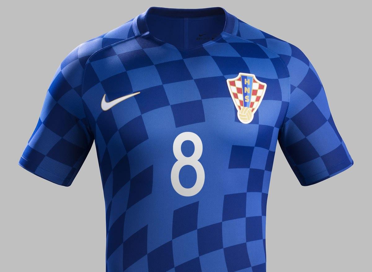 Camisetas Nike de Croacia Euro 2016