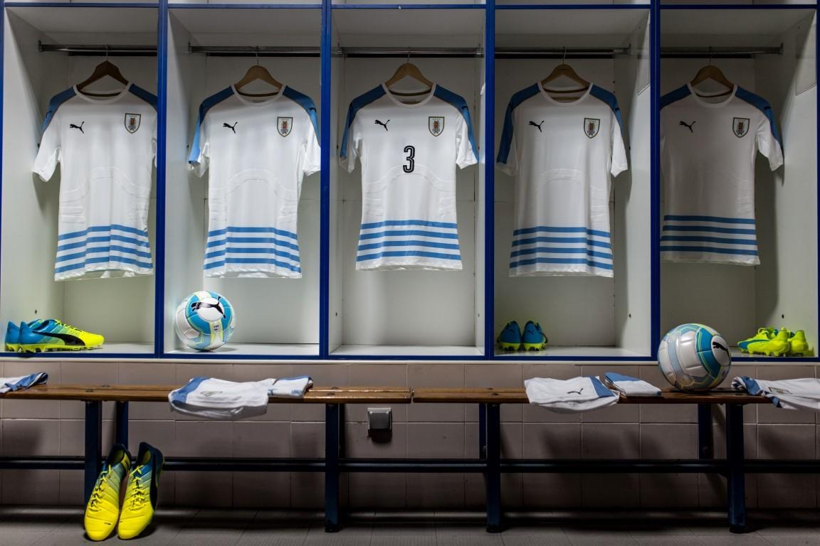 Casaca suplente de Uruguay | Foto 180.com.uy