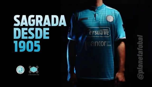 Nueva camiseta de Belgrano de Córdoba para 2016 | Foto Facebook Oficial