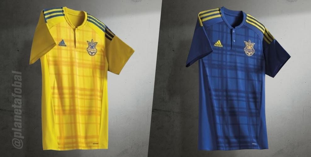 Nuevas camisetas de Ucrania | Foto Adidas