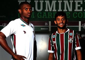 Nuevas camisetas Dryworld del Fluminense para el 2016 | Foto web oficial