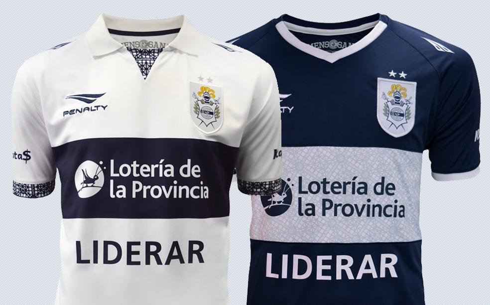 Camisetas Penalty de Gimnasia La Plata para 2016 | Imágenes Web Oficial