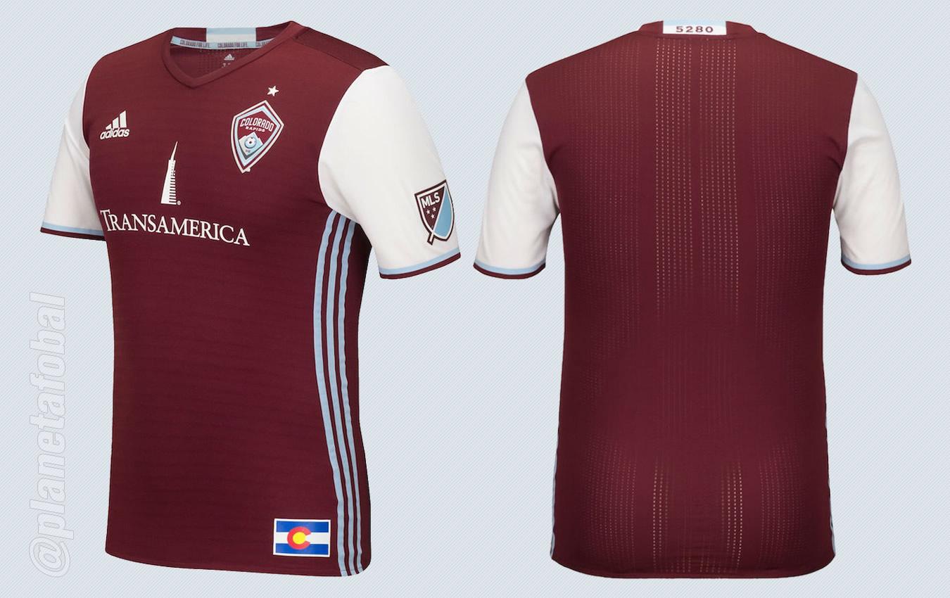 Nueva casaca del Colorado Rapids | Imágenes MLS