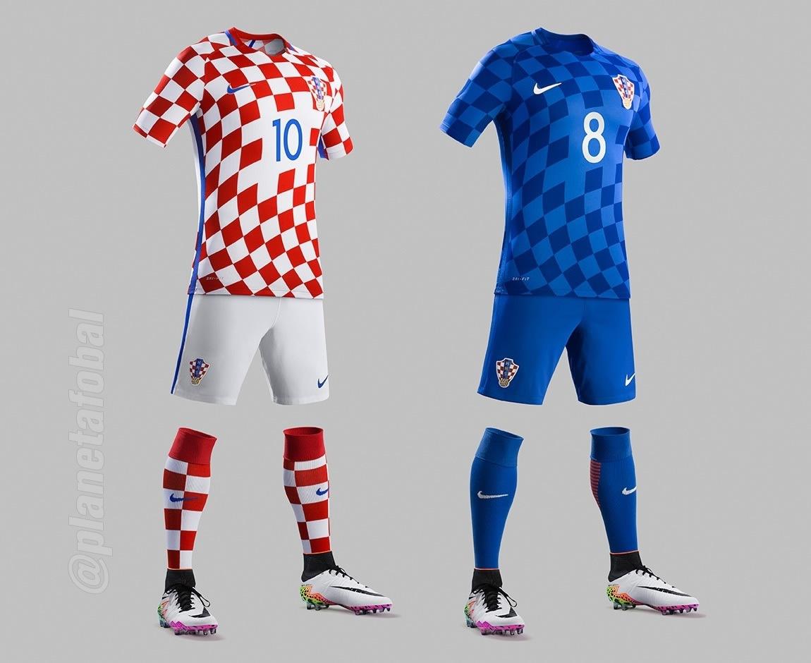Nuevos kits de Croacia | Foto Web Oficial