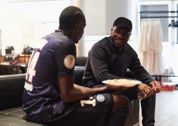 "Matuidi y Okocha protagonizan el anuncio ""Enflamme le jeu"" | Foto Nike"