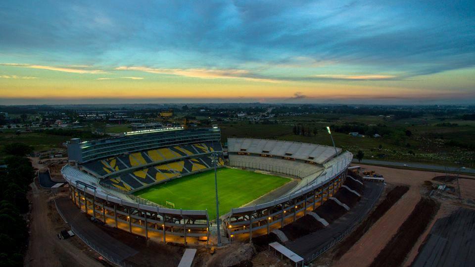 Vista aérea del estadio | Foto Facebook Oficial