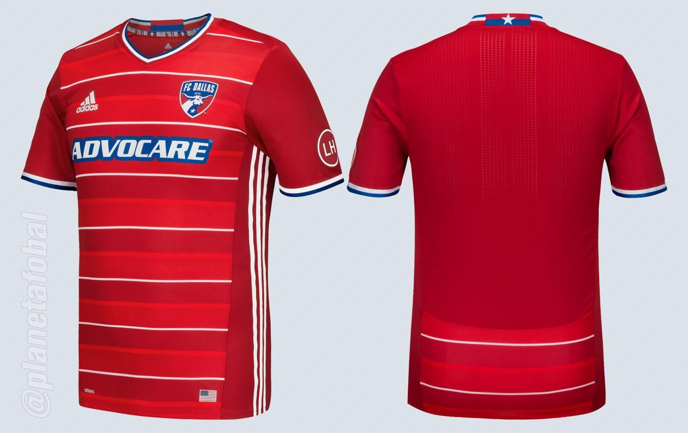 Camiseta titular del FC Dallas para la MLS 2016 | Foto Adidas