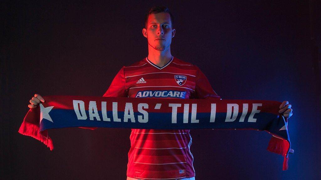 Nueva camiseta titular del FC Dallas para 2016 | Foto web oficial