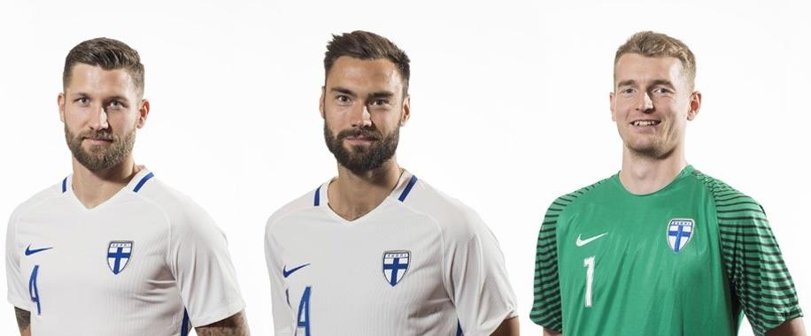 Finlandia presentó sus camisetas | Foto Palloliitto