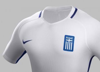 Camiseta titular de Grecia | Foto EPO
