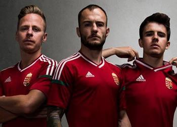 Camiseta titular de Hungria | Foto Web Oficial