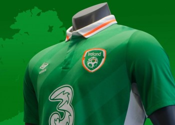 Nueva camiseta de Irlanda | Foto FAI