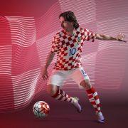 Modric con el kit titular   Foto Nike