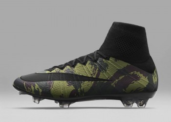 Botines Mercurial Superfly del Camo Pack | Foto Nike Football