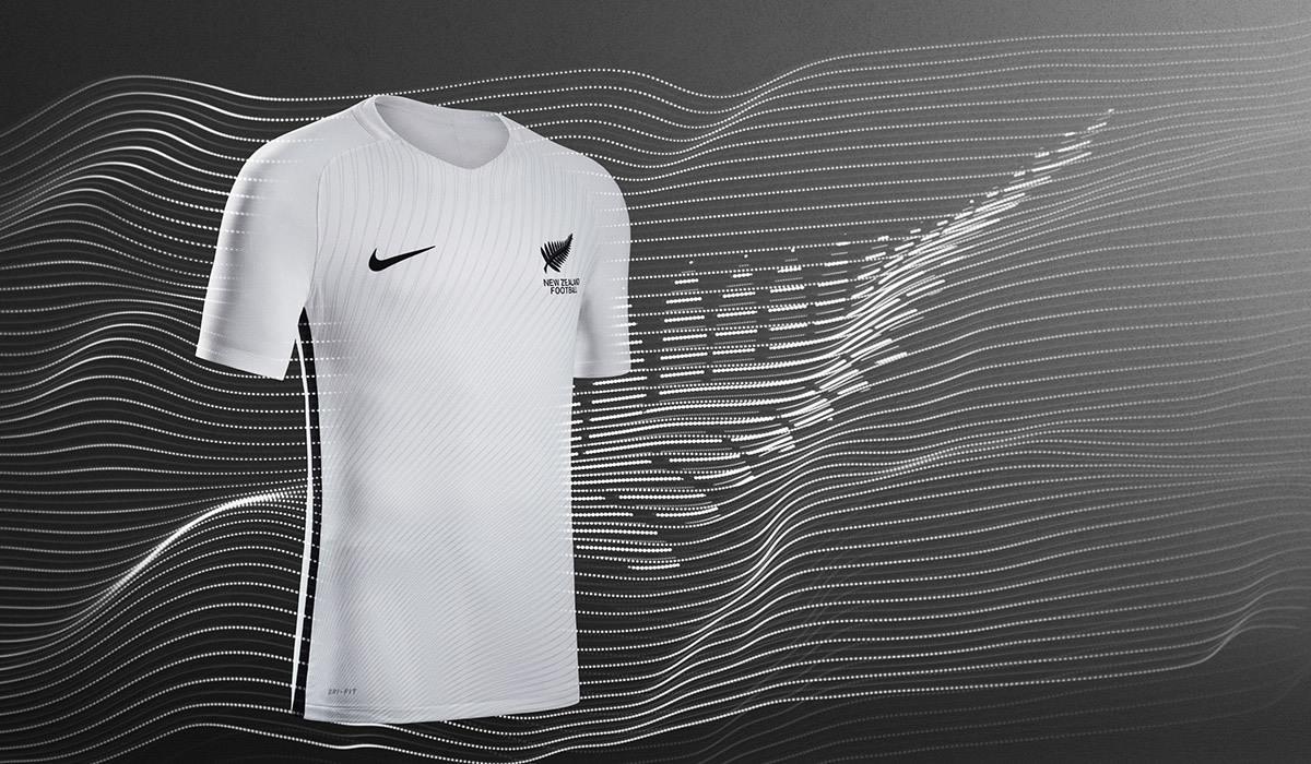 Camiseta titular de Nueva Zelanda | Foto Nike