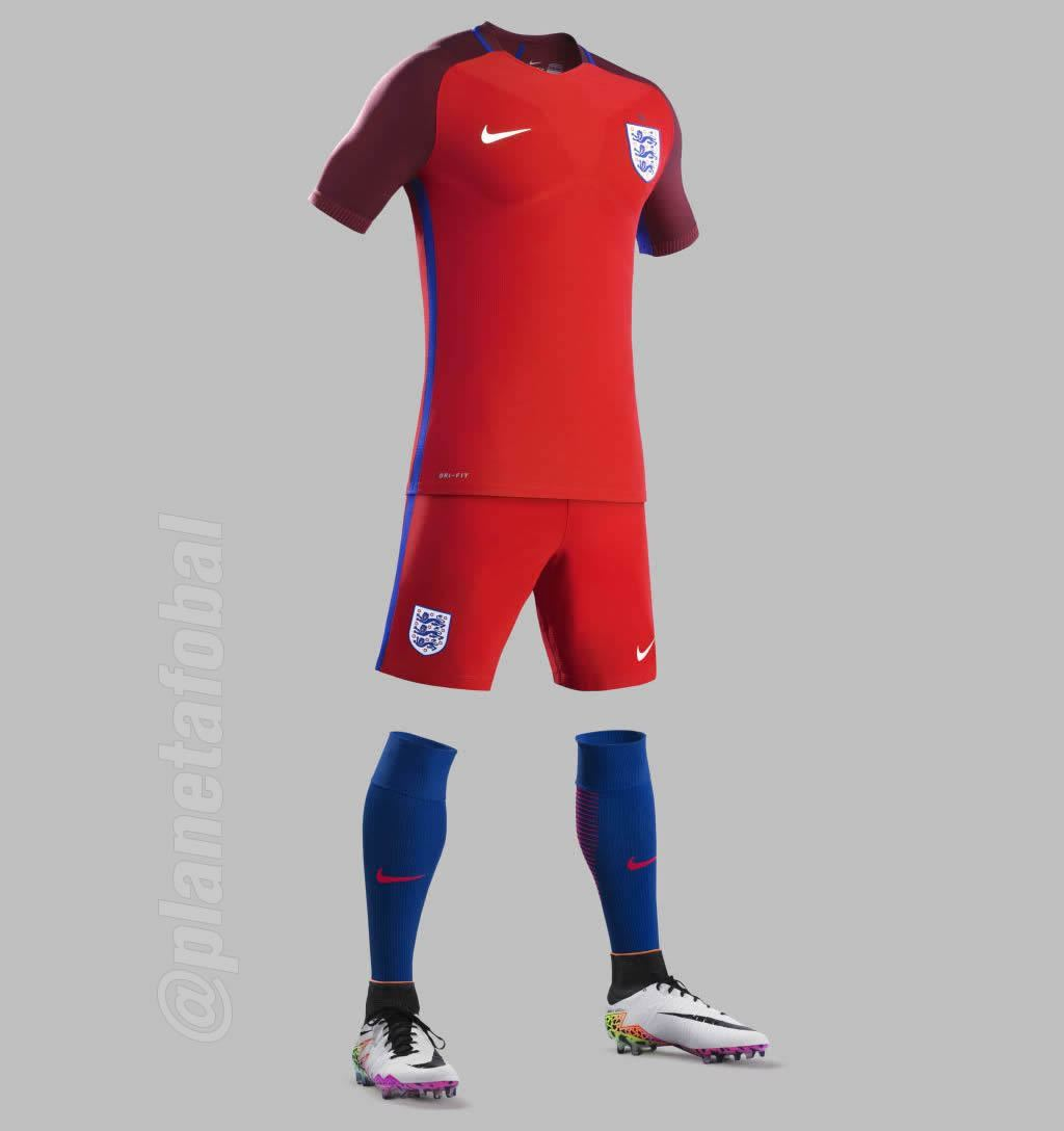 Casaca suplente de Inglaterra | Foto Nike