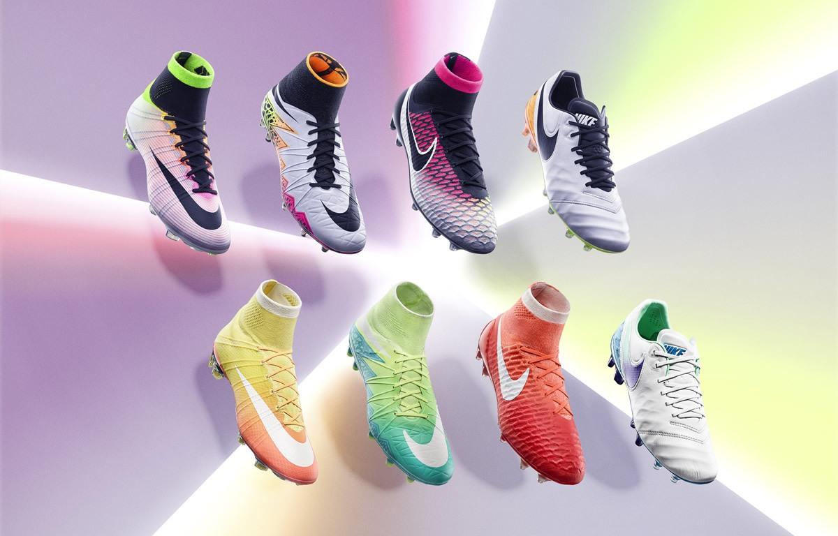 Versiones masculinas (arriba) y femenina (abajo) | Foto Nike