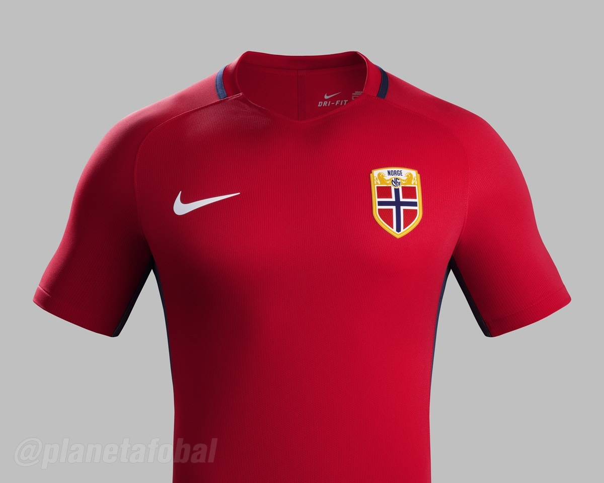 Nueva casaca titular de Noruega | Foto Nike
