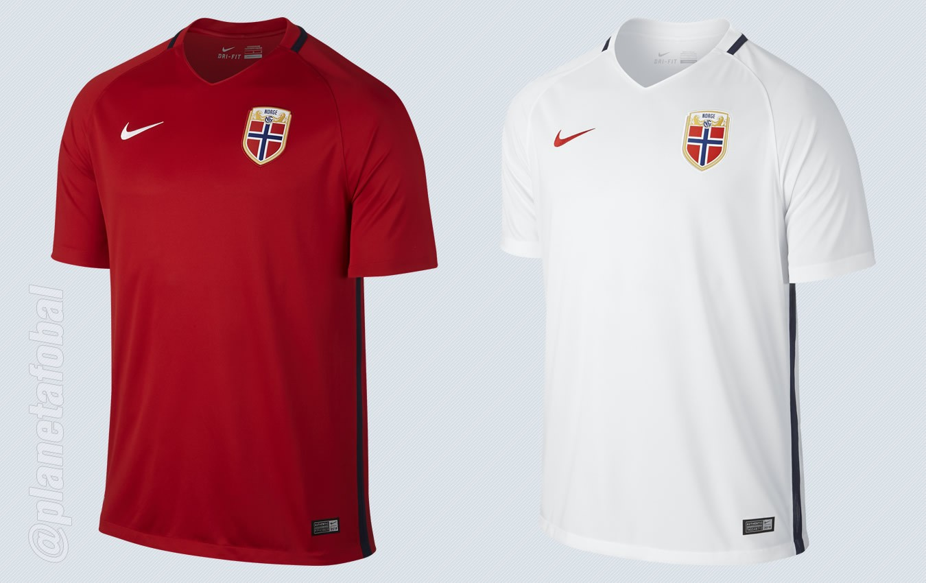 Nuevas camisetas de Noruega | Imágenes Nike