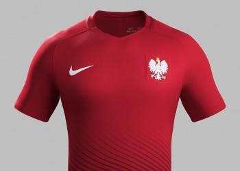 Casaca suplente de Polonia   Foto Nike