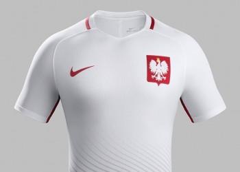 Casaca titular de Polonia   Foto Nike