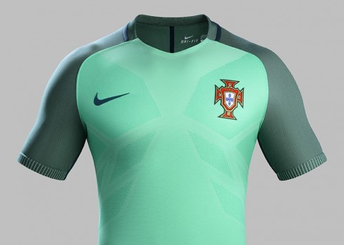 Camiseta alternativa de Portugal | Foto Nike