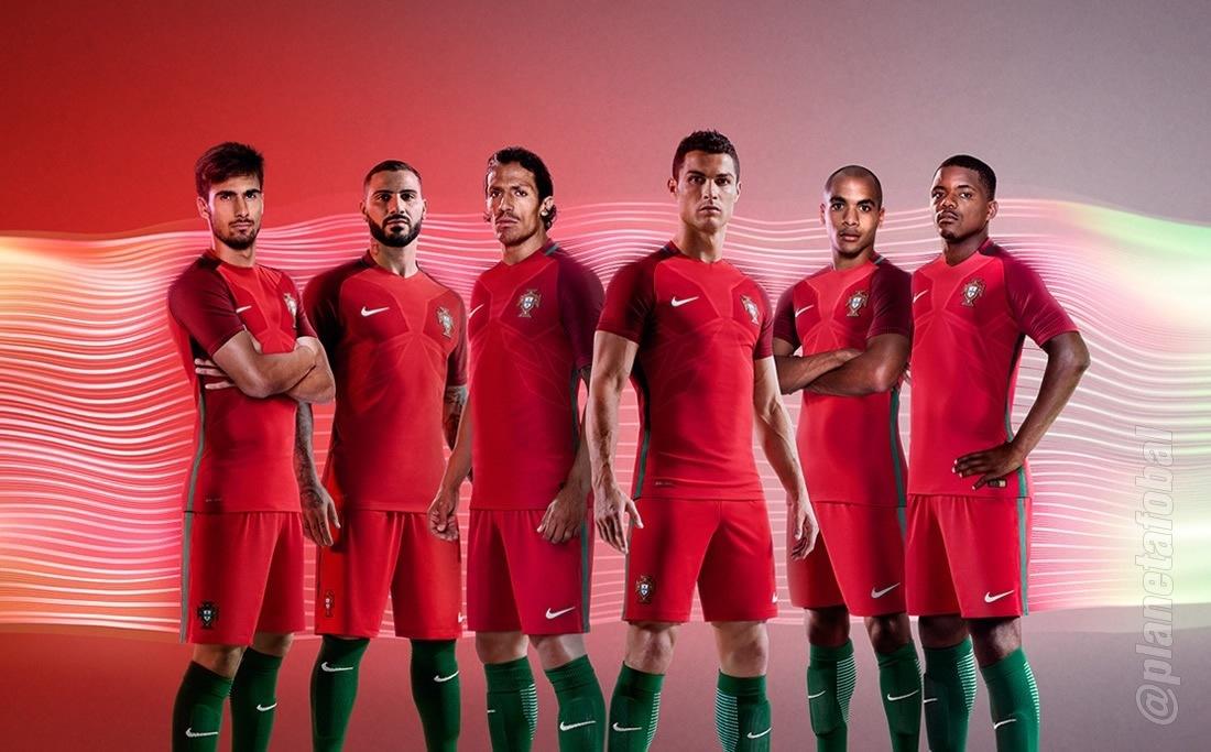 Camiseta titular de Portugal | Foto Nike