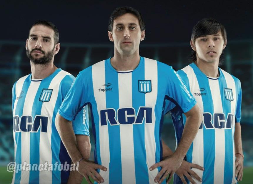 López, Milito y Romero con la casaca | Foto Web Oficial