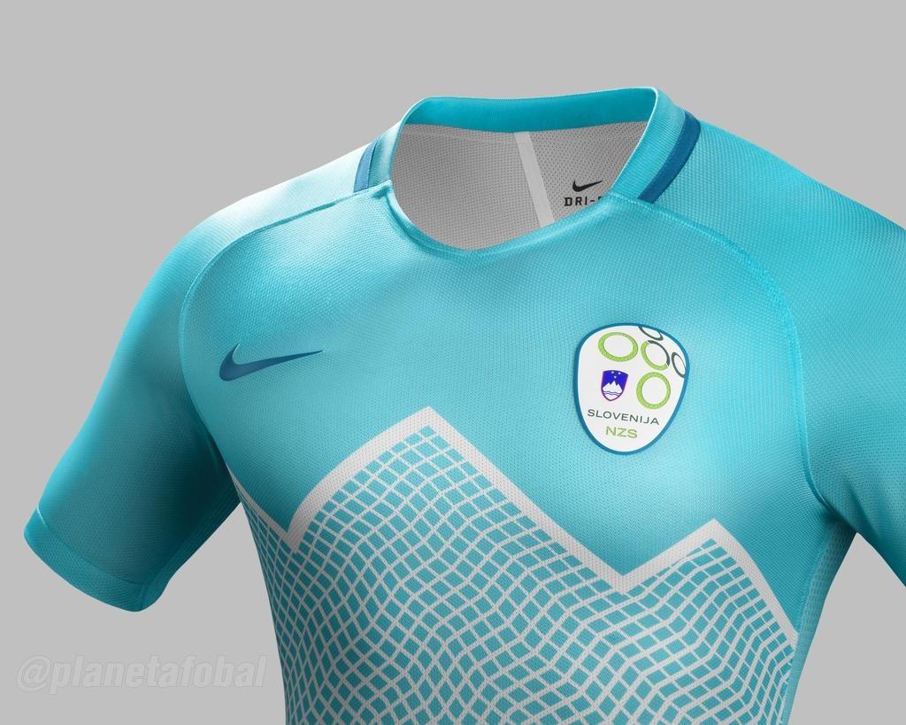 8f7182b693b0d Camisetas Nike de Eslovenia 2016 2017