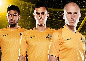 Camiseta titular de Australia | Foto Web Socceroos