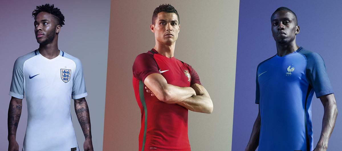 Inglaterra, Portugal y Francia poseen los kits Vapor | Imágenes Nike