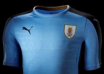 Nueva camiseta de Uruguay | Foto Puma