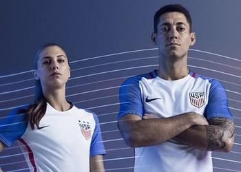 Nueva casaca de los Estados Unidos | Foto Nike