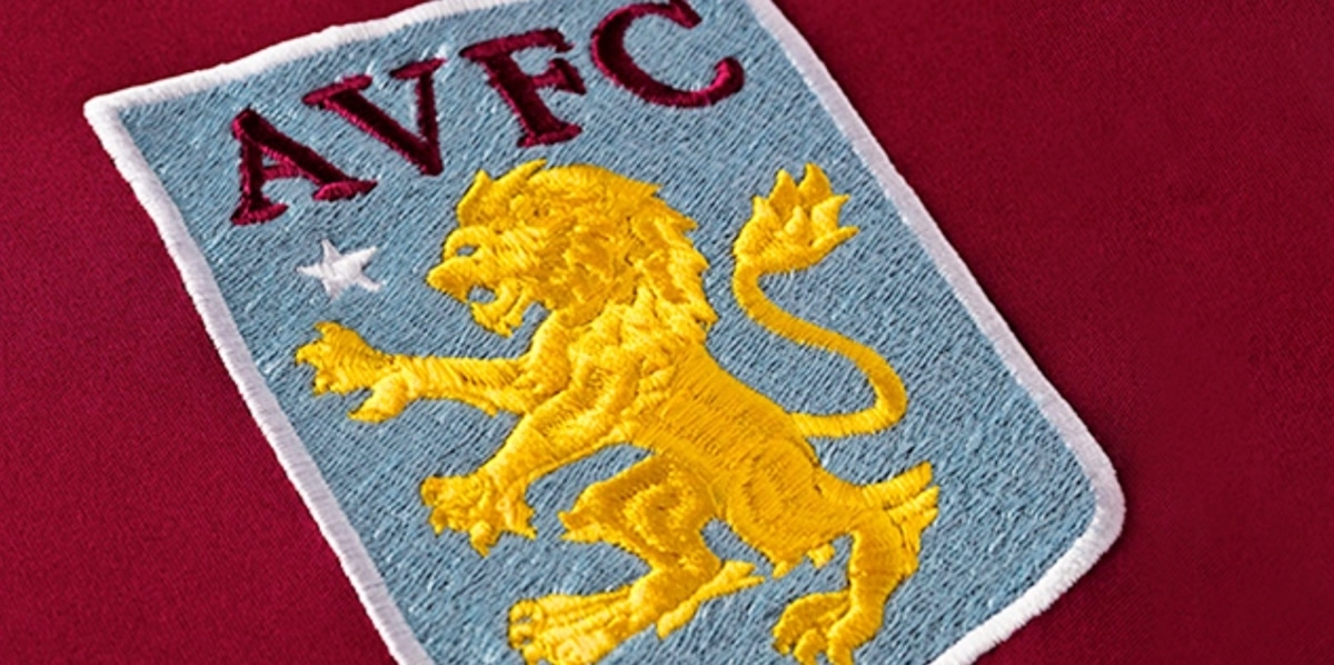 Aston Villa actualiza su escudo | Foto Web Oficial