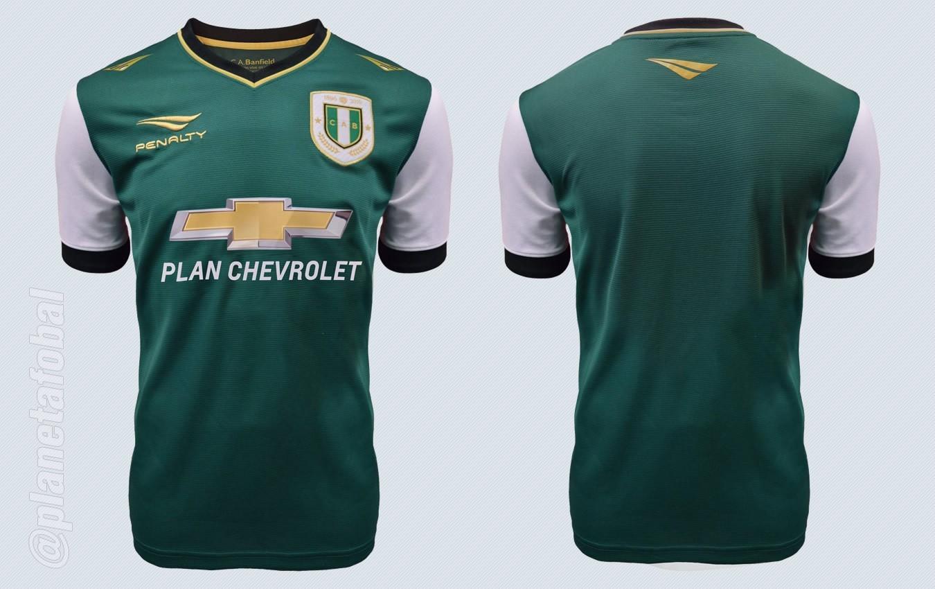 Nueva camiseta de Banfield | Imágenes Penalty