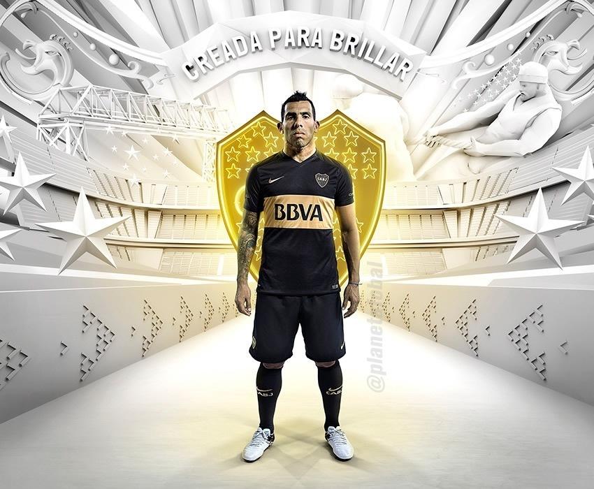 Nueva camiseta de Boca   Foto Nike