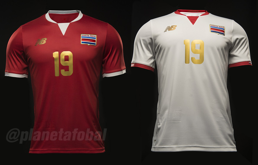 Nuevas camisetas de Costa Rica | Imágenes FEDEFUTBOL