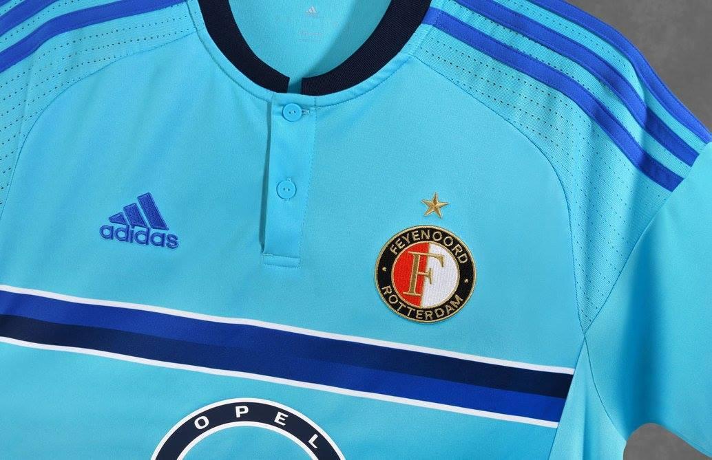Casaca suplente del Feyenoord | Foto Web Oficial