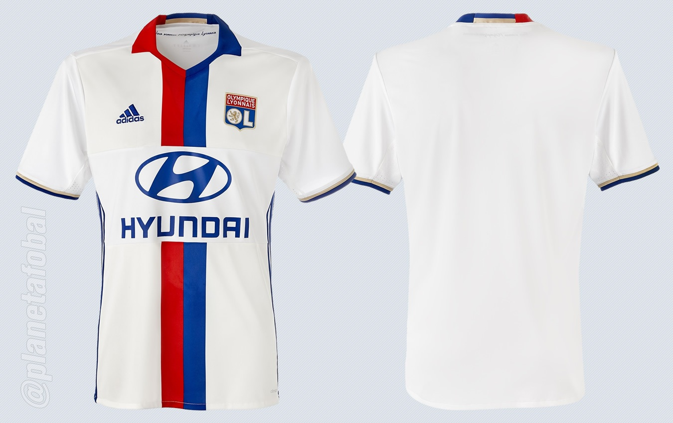 Camiseta titular del Lyon | Imágenes Web Oficial