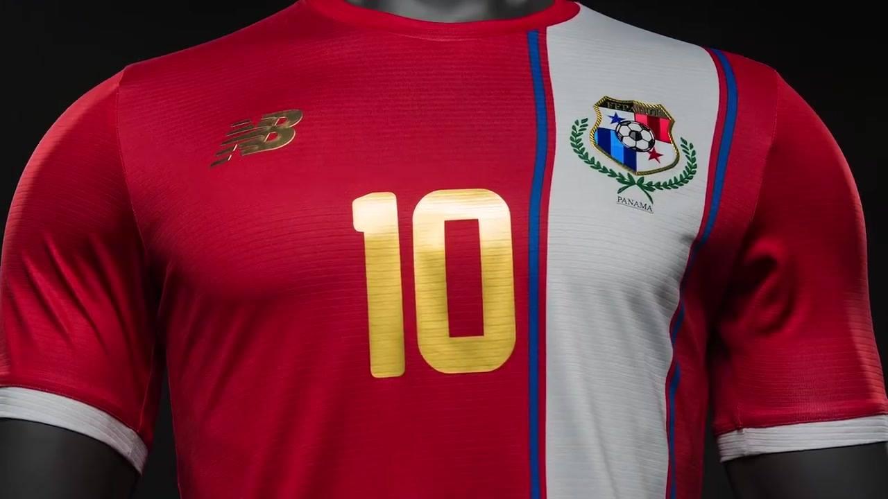 Nueva camiseta de Panamá