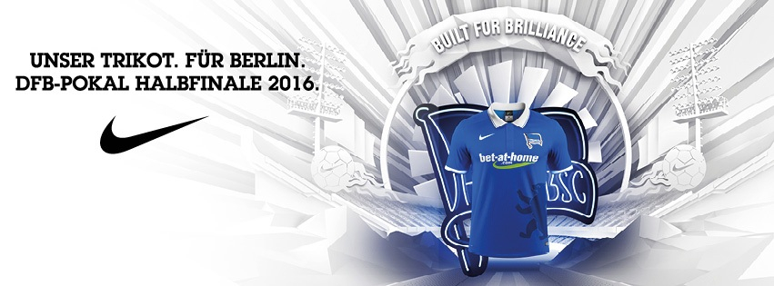 Casaca especial del Hertha | Foto Web Oficial