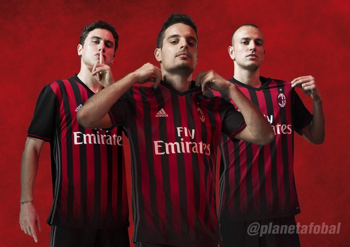 Nueva camiseta del Milan | Foto Adidas