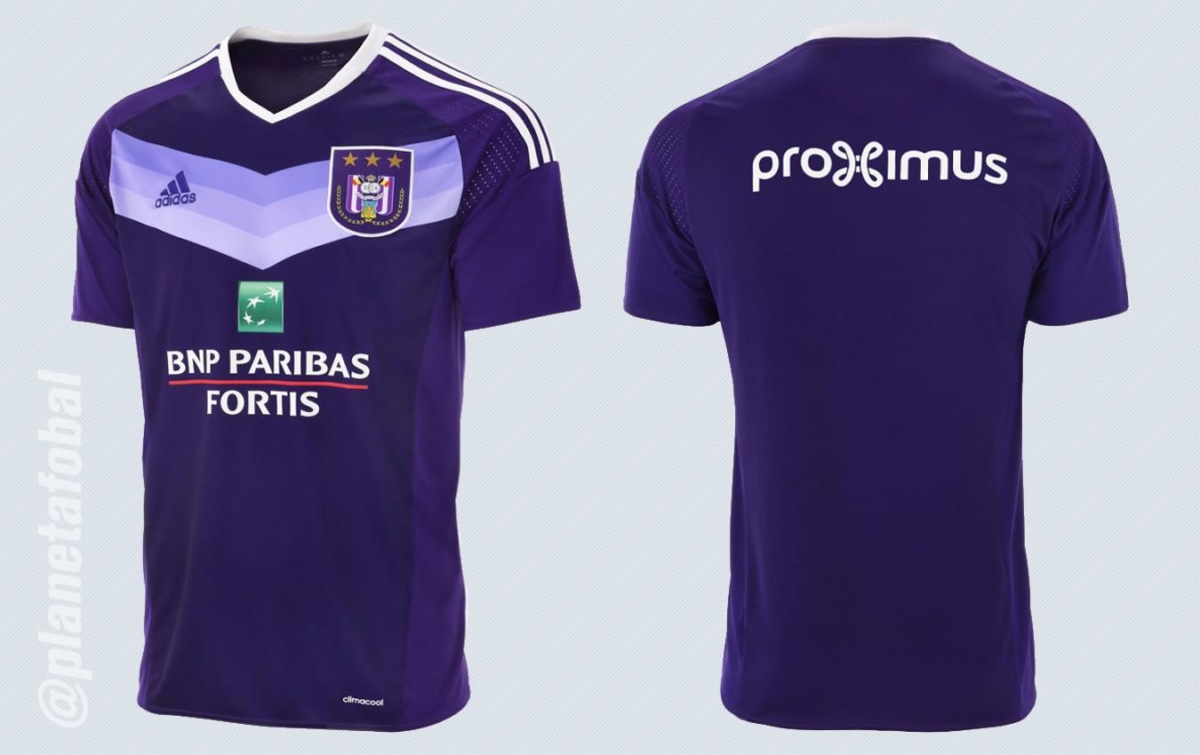 Nueva camiseta del Anderlecht | Imágenes Web Oficial