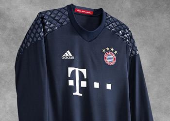 Camiseta de arquero del Bayern Munich | Foto Adidas