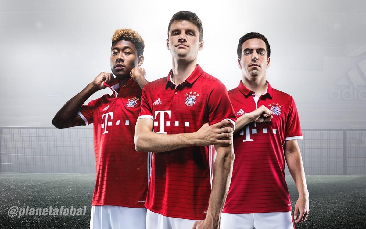 Nueva camiseta del Bayern Munich | Foto Adidas