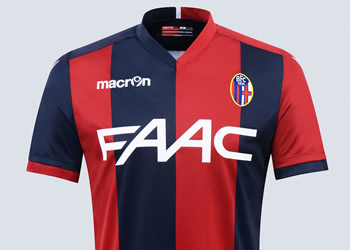 Nueva camiseta del Bologna | Foto Macron